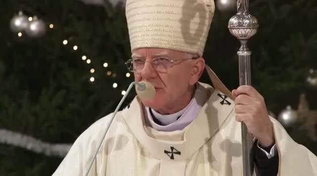 Antychryst przebywa już na tym Świecie, Msza św  na zakończenie roku