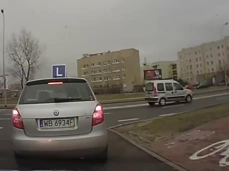 Najkrótszy egzamin na prawo jazdy! Zobacz co zrobiła kursantka!
