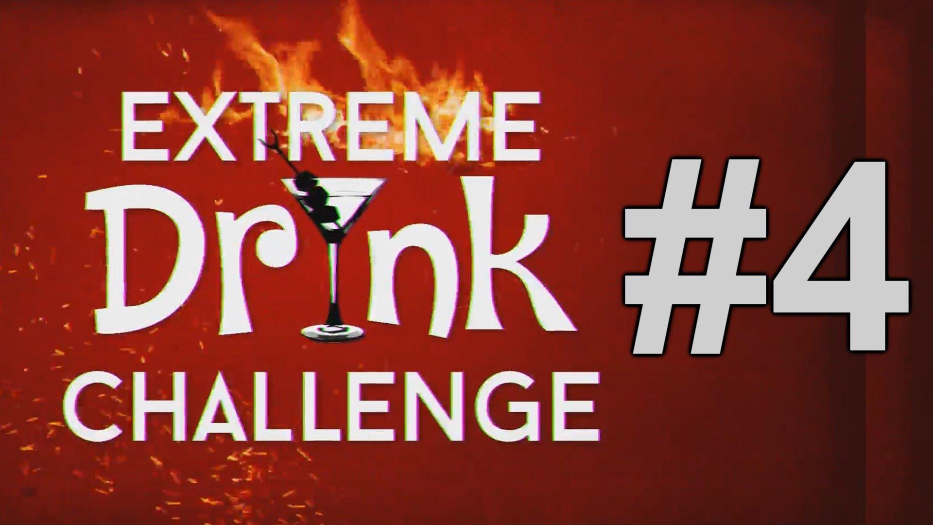 EXTREME DRINK CHALLENGE #4 (Gość - CYBER MARIAN)[ ChwytakTV ]