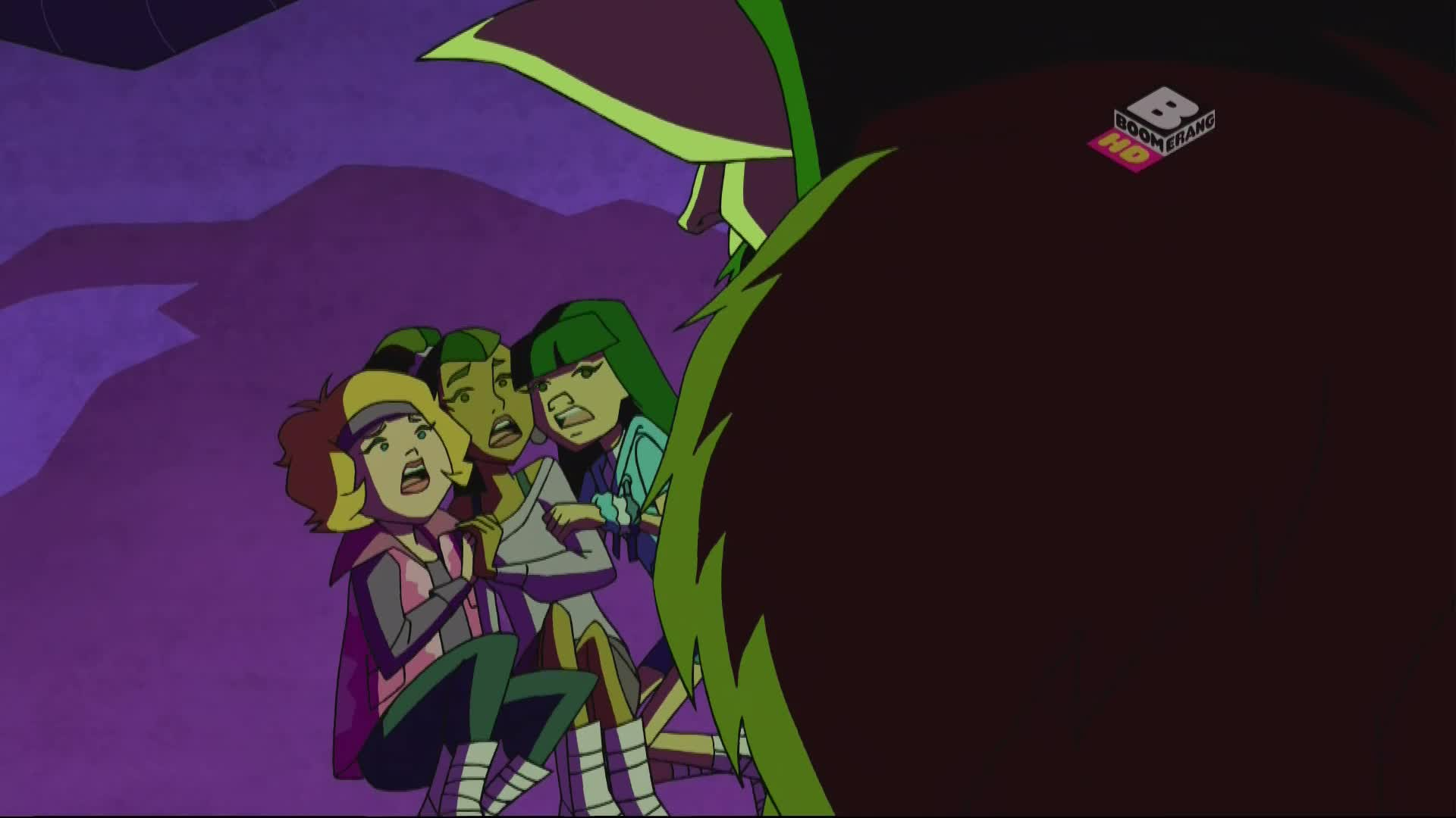 Scooby-Doo i Brygada Detektywów 1080p, odcinki 39-40: Gniew Krampusa/Serce Zła