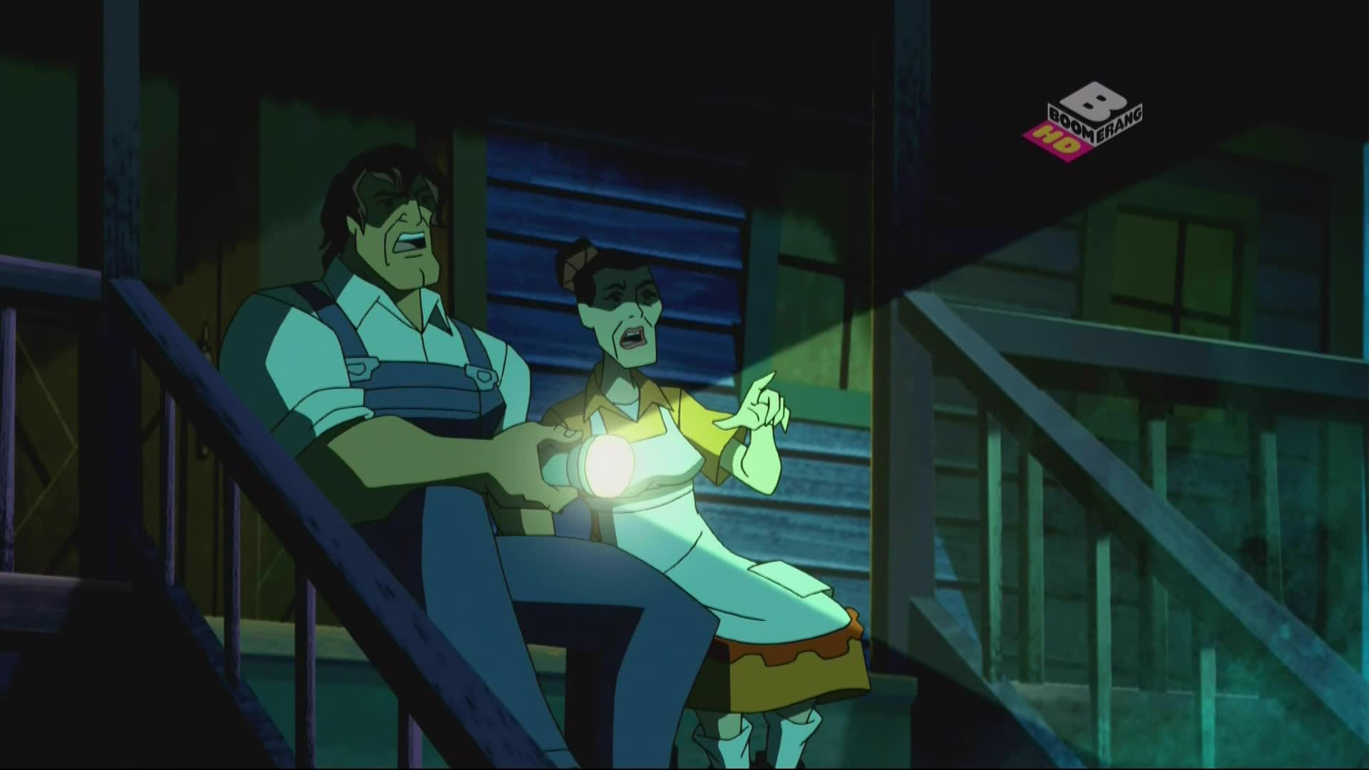 Scooby-Doo i Brygada Detektywów 1080p, odcinki 43-44: Straszliwe Stado/Taniec Nieumarłych