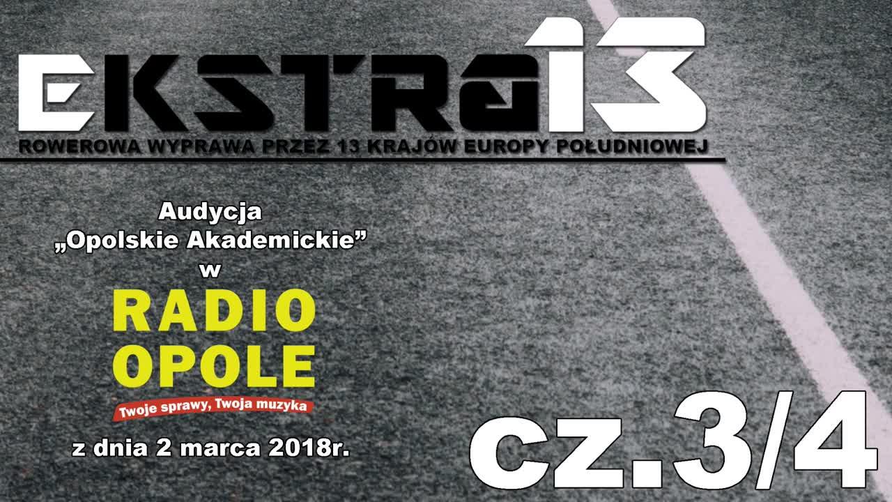 EkstraMisja w Radio Opole.  Opolskie Akademickie cz. 3