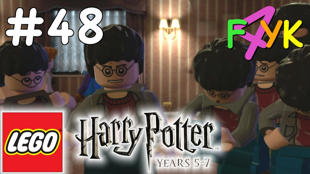 lego harry potter years 5 7 48 the seven harrys wideo w. Black Bedroom Furniture Sets. Home Design Ideas