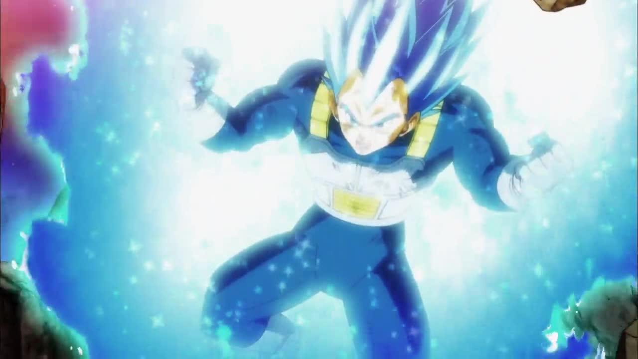 Dragon Ball Super 126 Przewyższyć Nawet Boga!/Desperackie Uderzenie Vegety!!