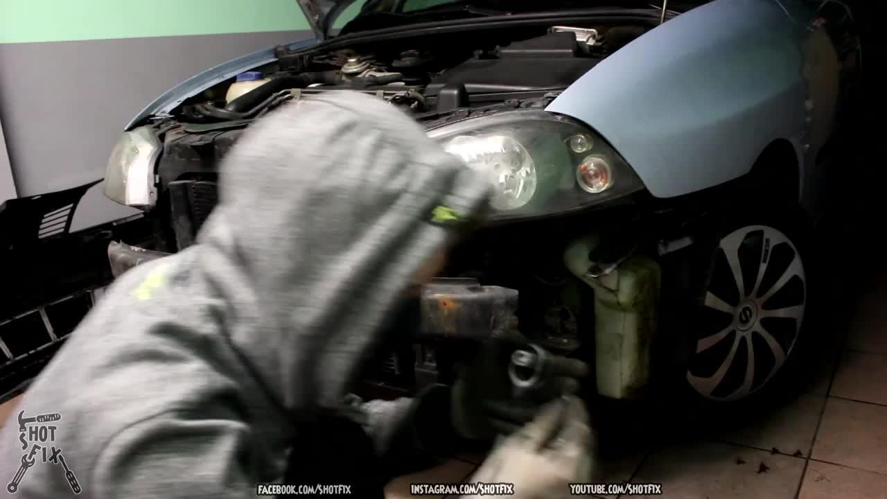 Wymiana reflektorów - Seat Ibiza 6L