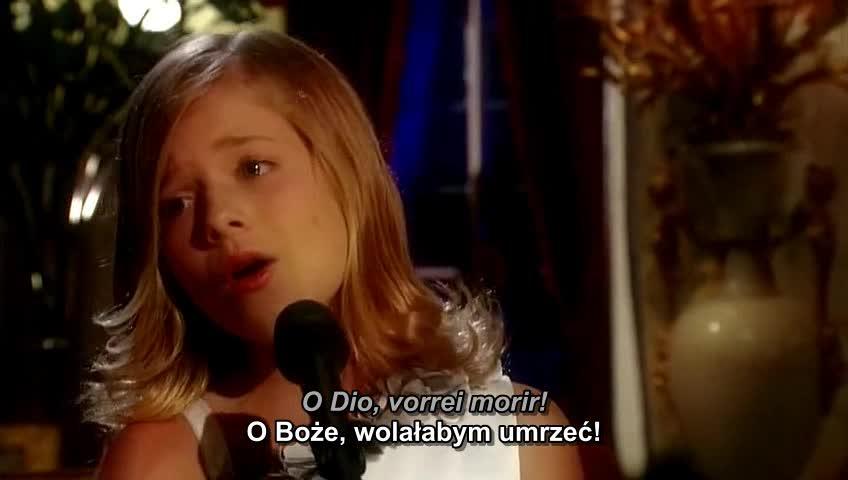 Jackie Evancho - O Mio Babbino Caro tłumaczenie pl