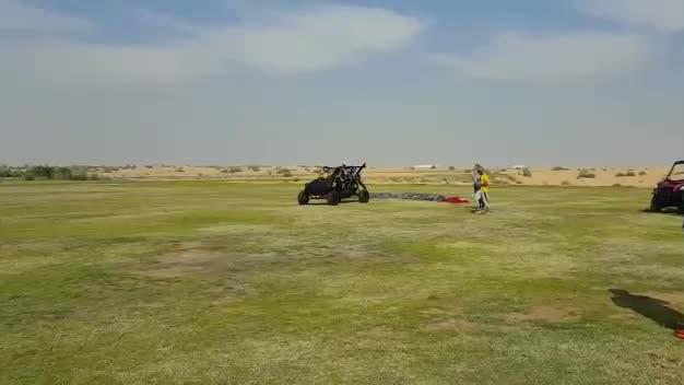 Test latającego samolotu