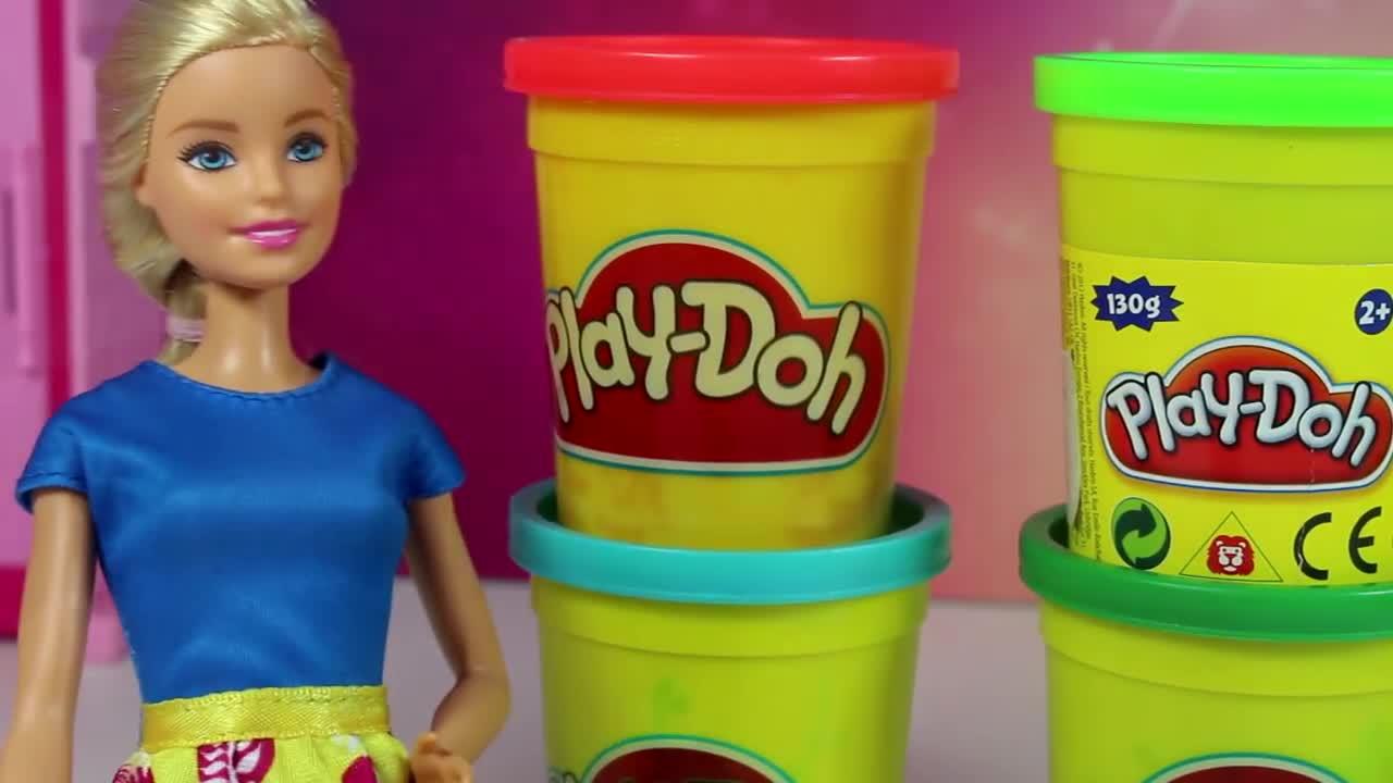 Play Doh Sowy Z Ciastoliny Play Doh Od Barbie Diy Wideo W Cda Pl