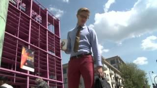 Street Fashion: Współczesny dandys ubiera się u krawca lub... w Vistuli i Wólczance