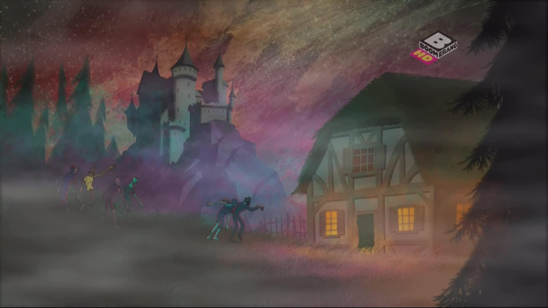 Scooby-Doo i Brygada Detektywów 1080p, odcinki 19-20: Poczwar/Pieśń syreny