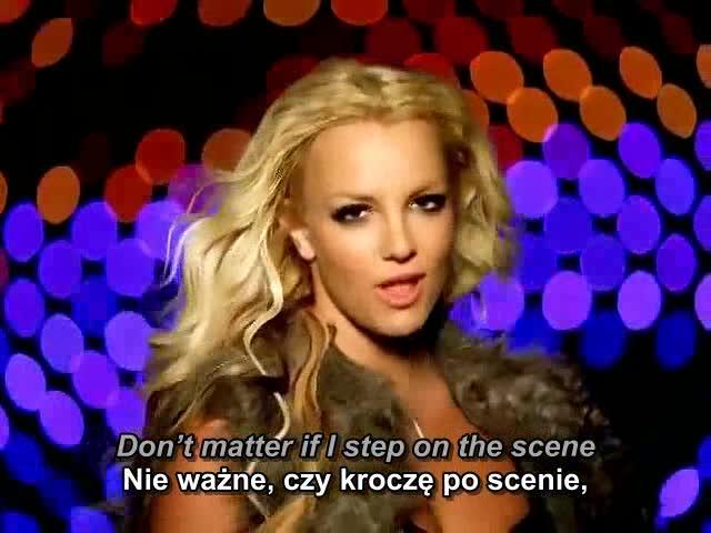 Britney Spears - Piece Of Me Cząstka mnie NAPISY