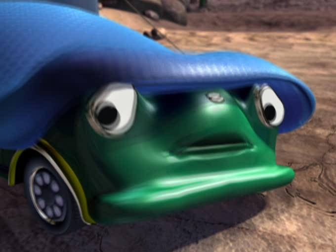 Super Auta - odcinek 55: Pułapka na potwora