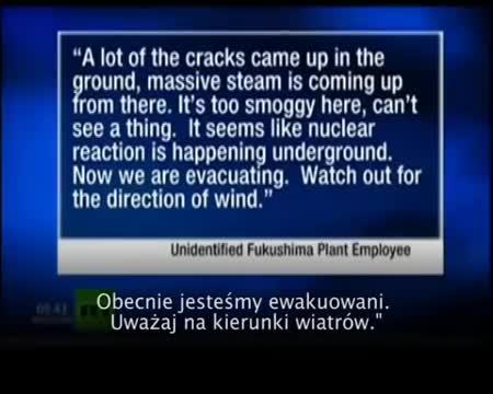 Fukushima i 'chiński syndrom' 160 dzień - RT Napisy PL