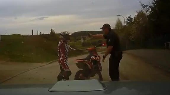 Straż Leśna konta motocrossowcy
