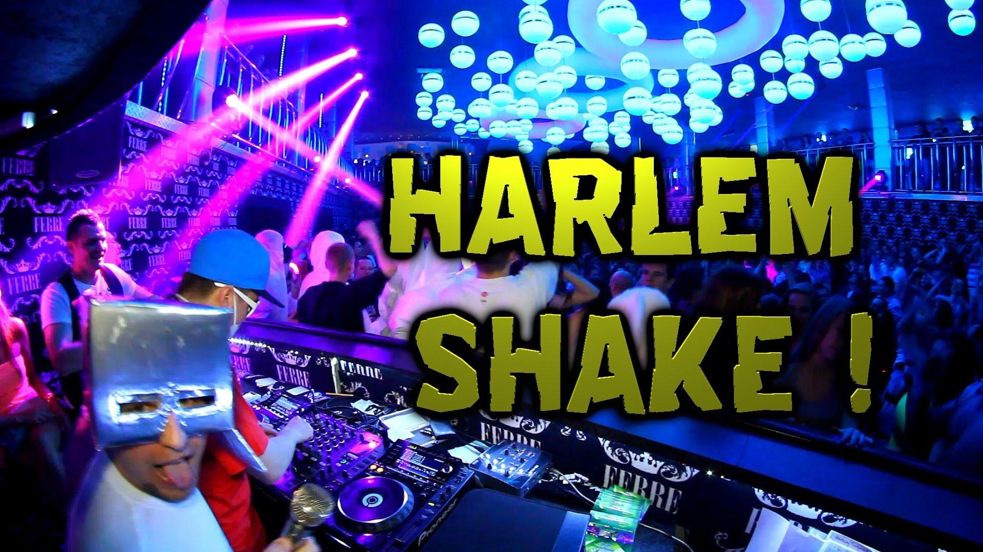 Chwytak & Dj Wiktor - Harlem Shake w klubie FERRE.
