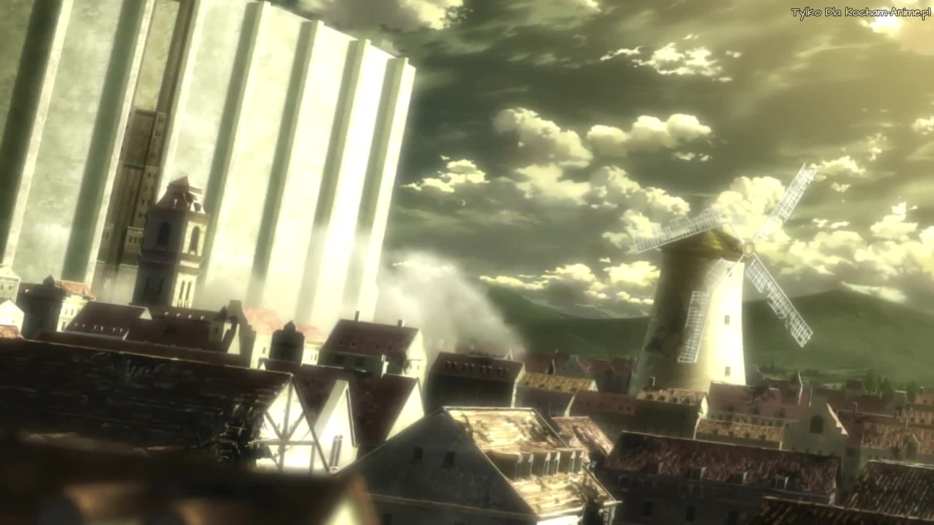 Shingeki no Kyojin (Atak Tytanów`) Odc 18 Las ogromnych drzew - 57 wyprawa poza mury