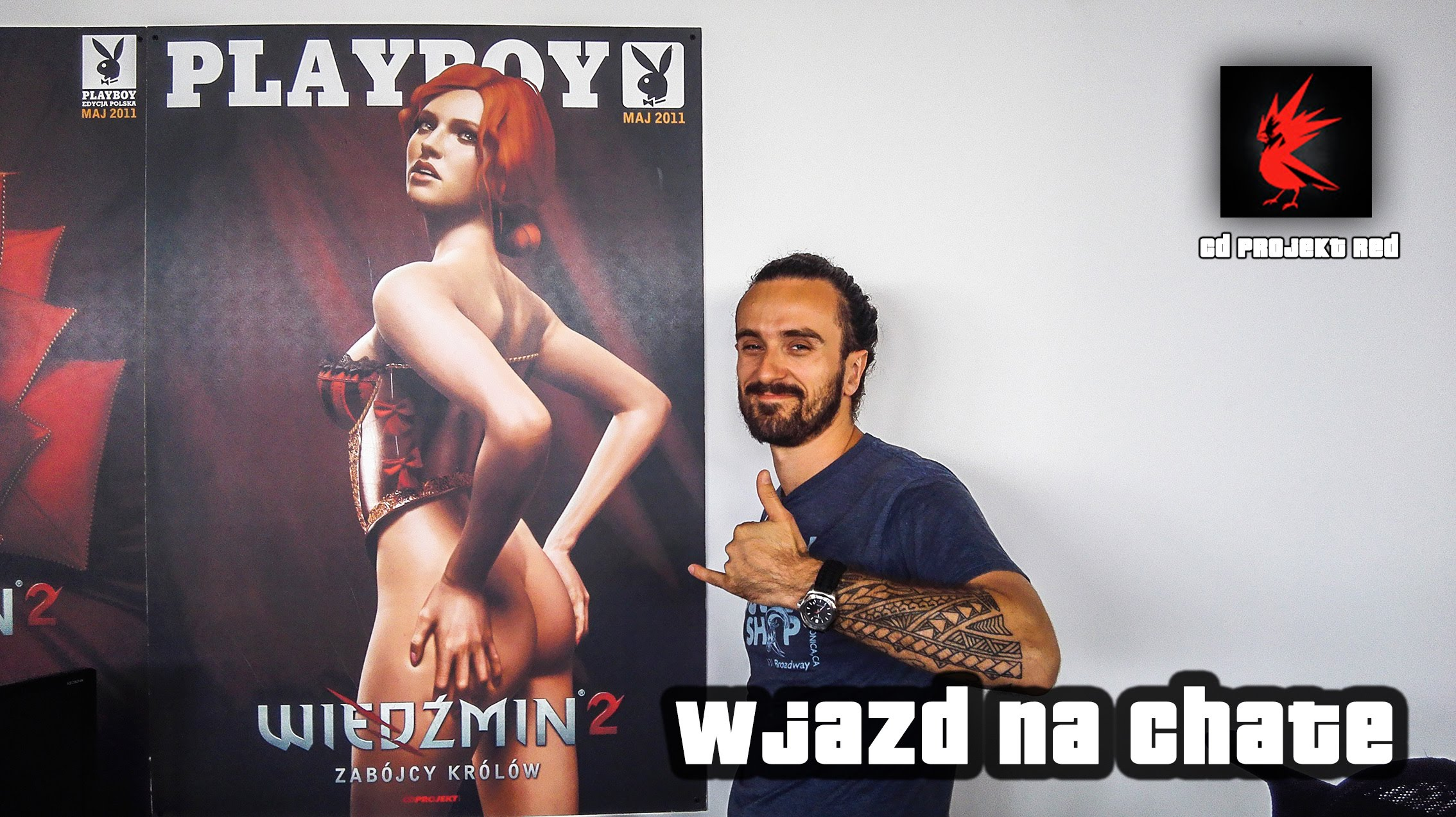 cd projekt red wjazd na chate witcher 39 s house wideo w. Black Bedroom Furniture Sets. Home Design Ideas
