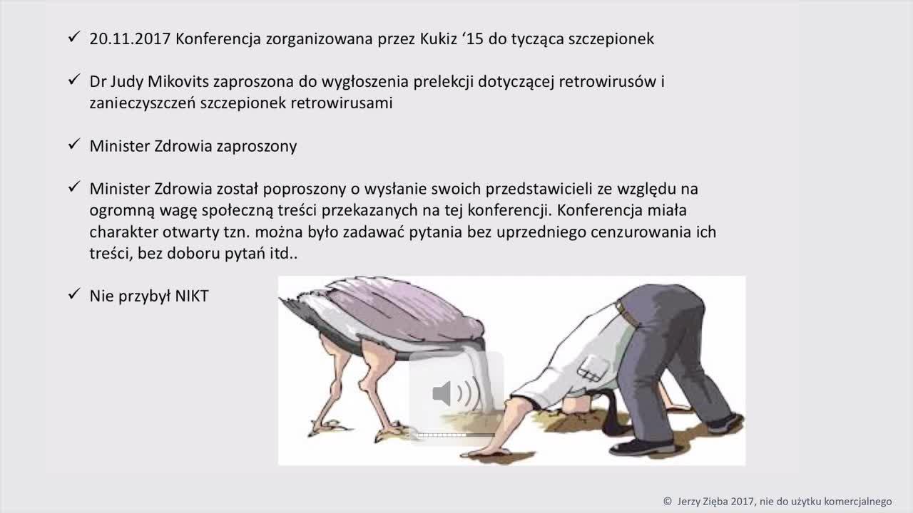 Jerzy Zięba - Szczepionki film cz. 12