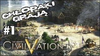 Sid Meier's Civilization V: Nowy Wspaniały Świat #1 - Grameplay multiplayer 4 osoby. Co op