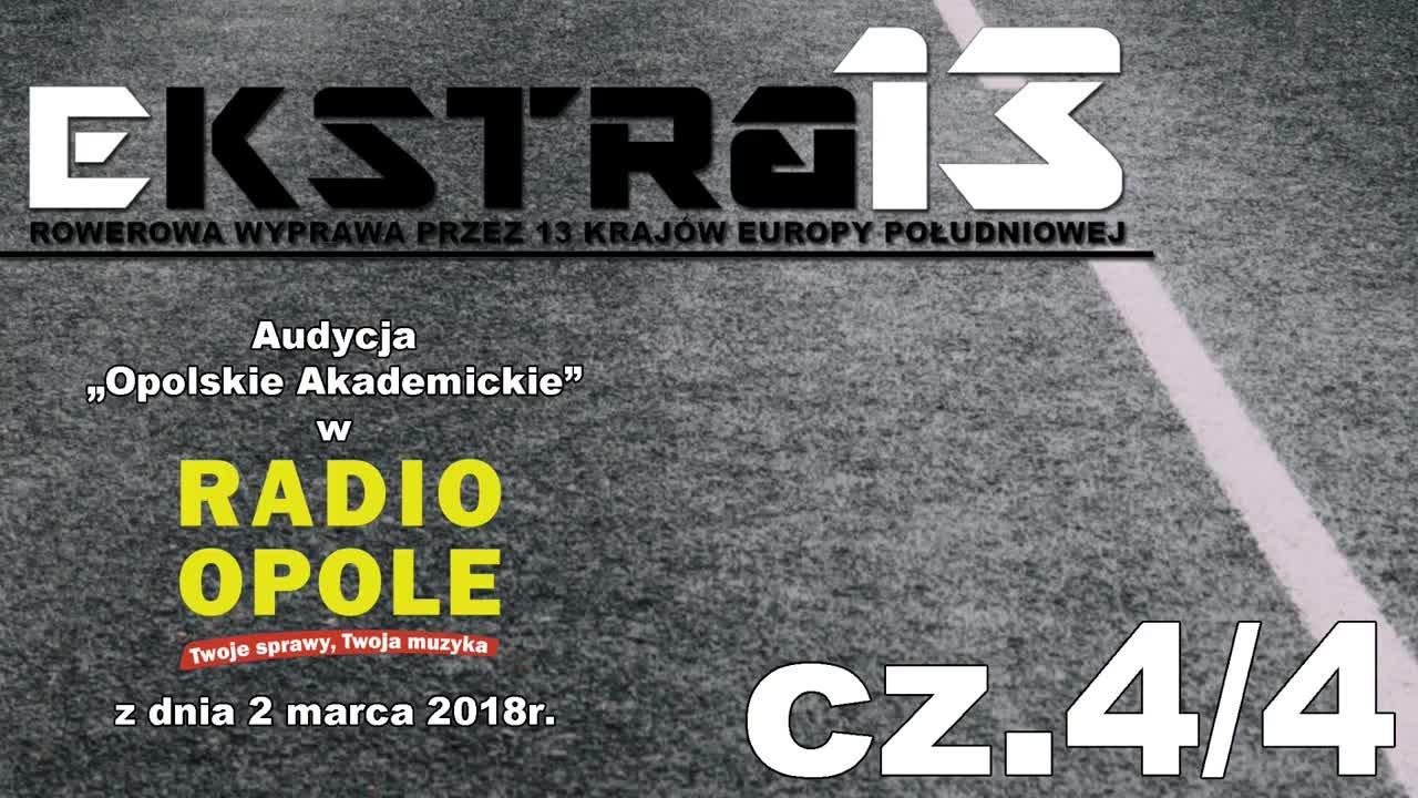 EkstraMisja w Radio Opole.  Opolskie Akademickie cz. 4