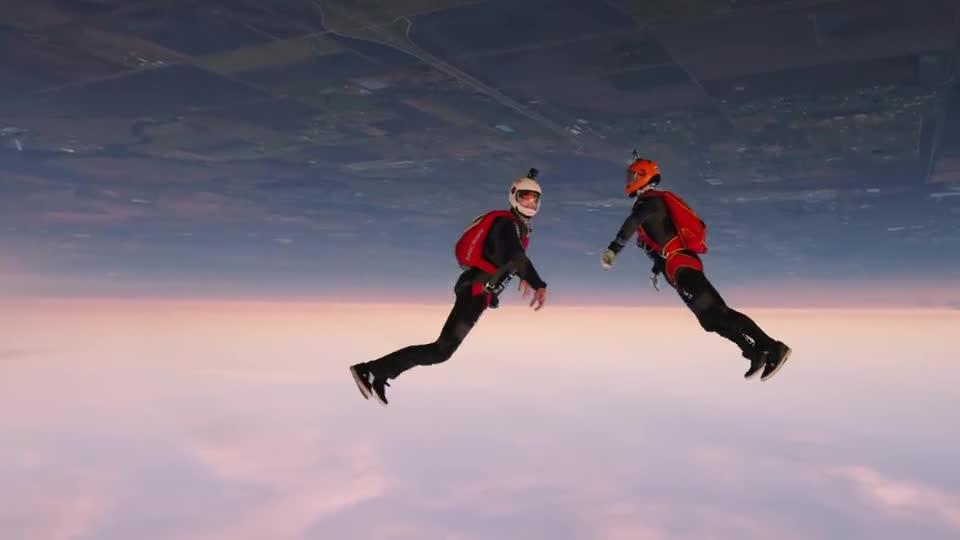 Skydiving w trochę innej formie