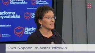 Ewa Kopacz: Chcę pytać o konkretne do bólu pomysły