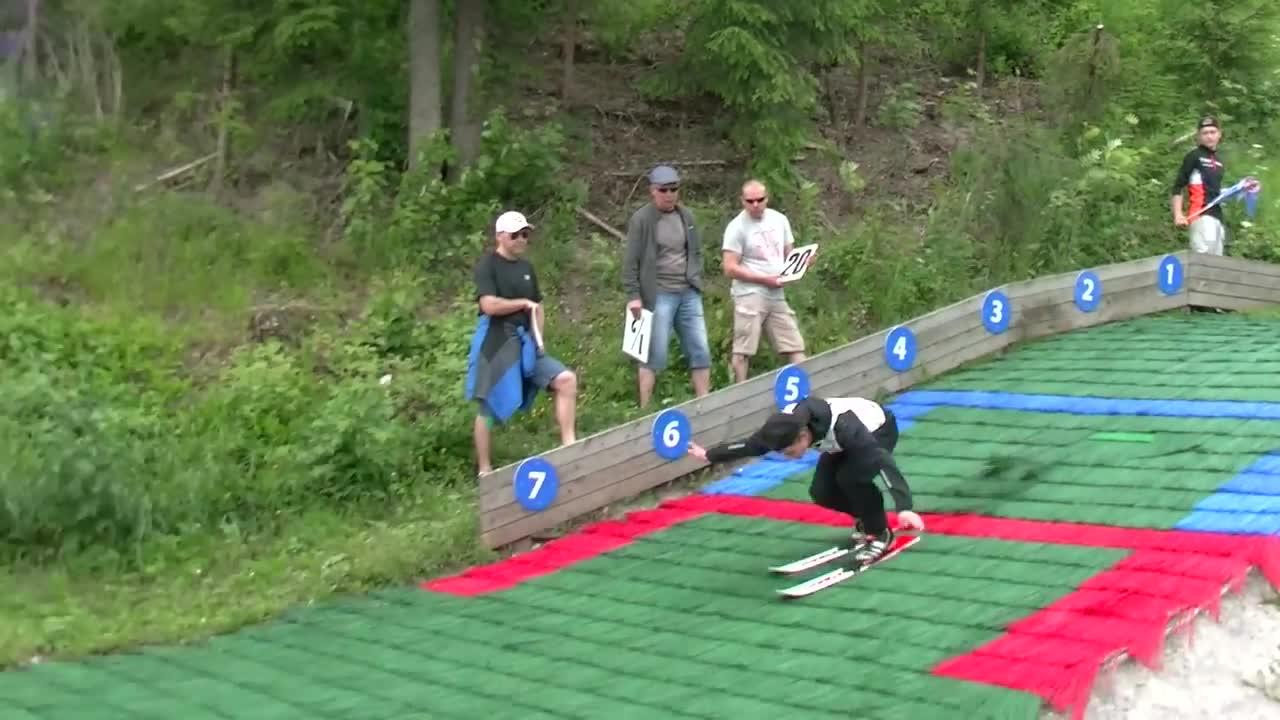 Amatorski turniej skoków narciarskich
