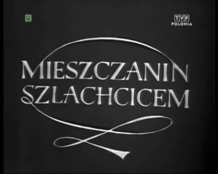 Mieszczanin szlachcicem - Teatr telewizji (1969)