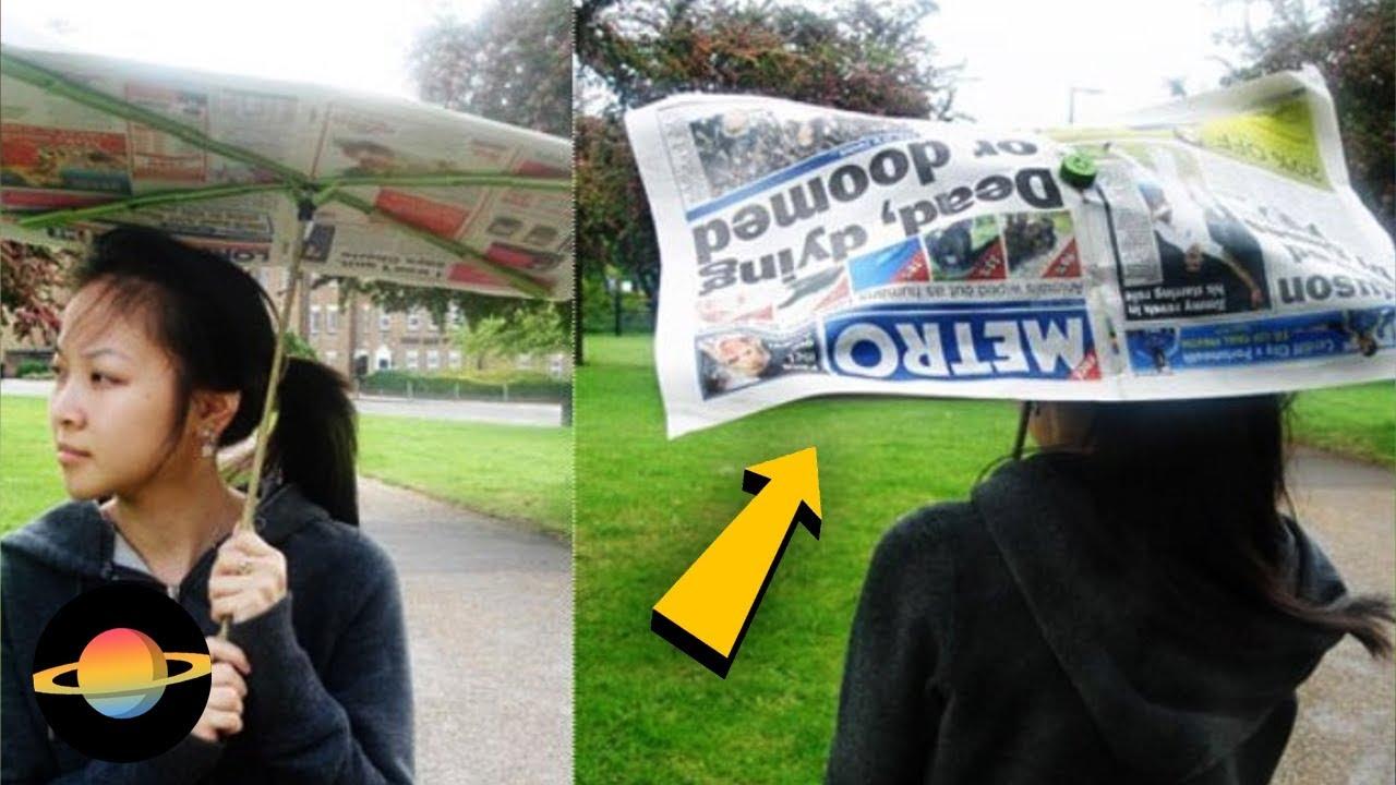 10 najdziwniejszych parasolek, które możesz kupić