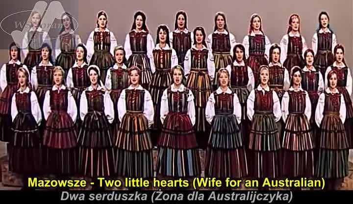 Mazowsze Two little hearts Dwa serduszka