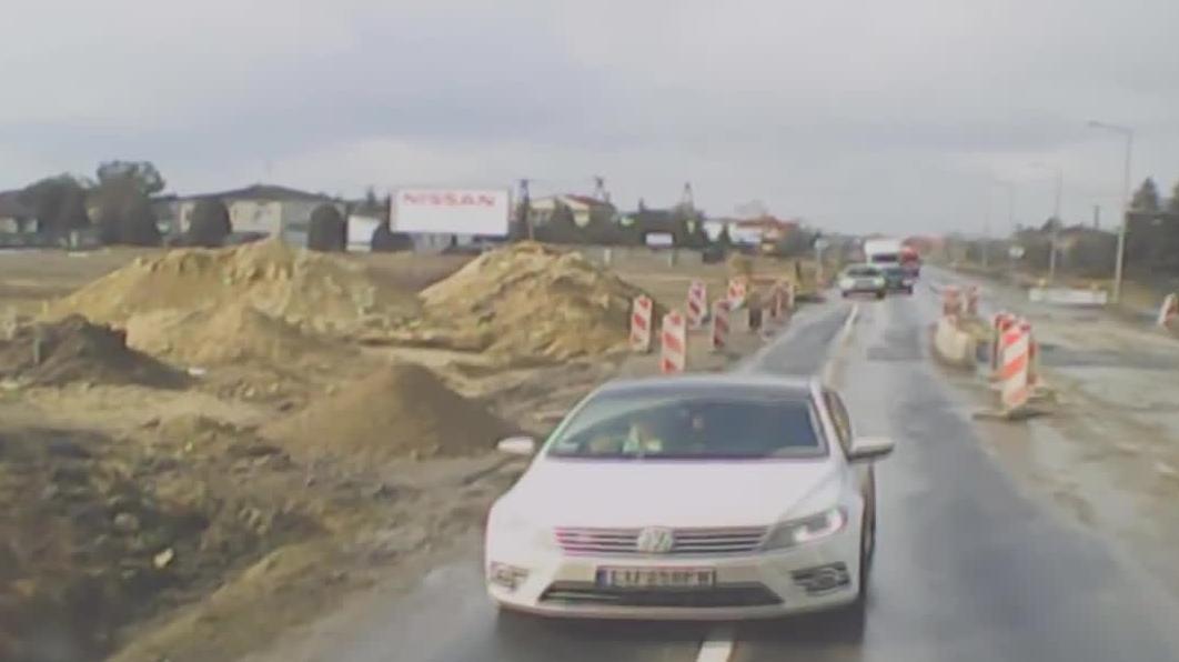 Niebezpieczne i chamskie sytuacje na Polskich drogach