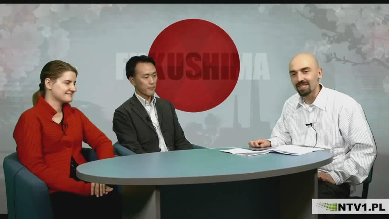 Fukushima - Niewygodne fakty, cz.  I (pan prowadzący nie rozumie powagi sytuacji).