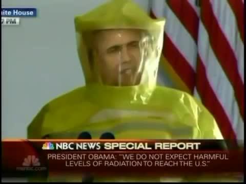 Obama kłamie wszystkich Amerykanów o Fukushimie 3-17-2011