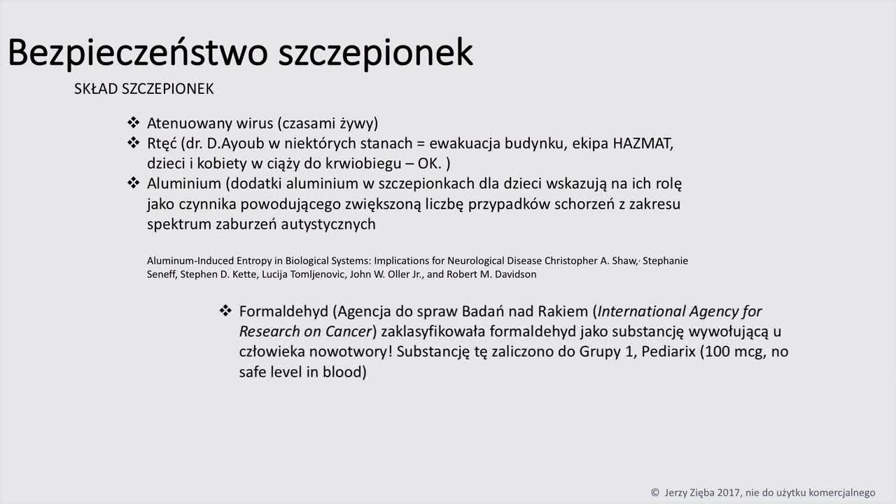 Jerzy Zięba - Szczepionki film cz. 08