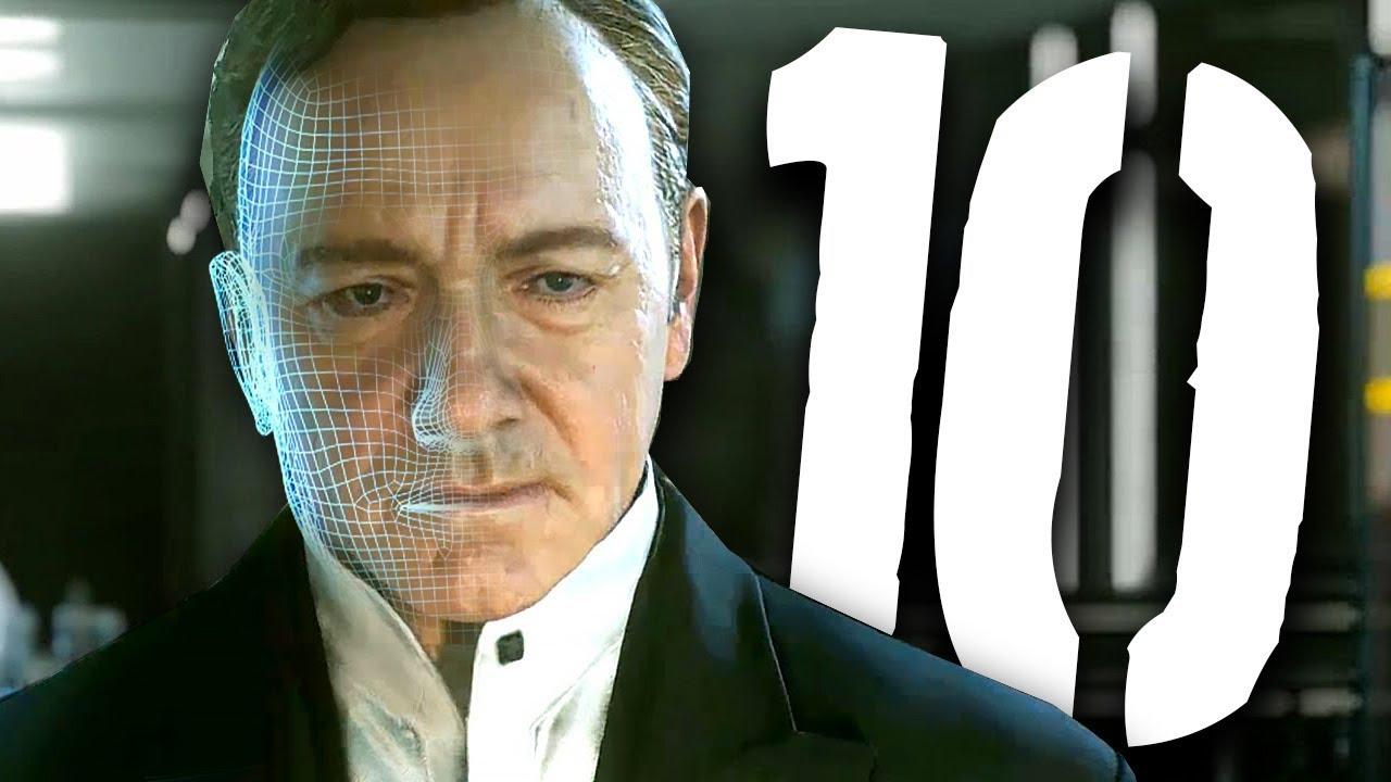 10 znanych aktorów w grach wideo [feat. ZAJEGRANIE]