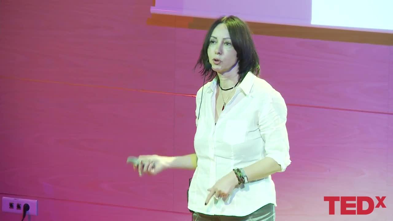 EWA LANGER w TEDEX