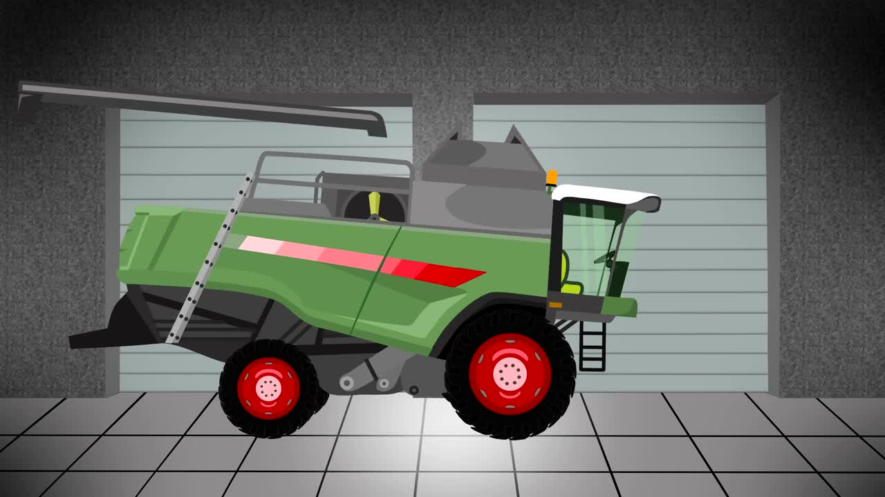 Garage agricultural machinery maszyny konstrukcja for Garage cda chilly