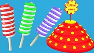Learn colors for Kids with lollipops | CzyWieszJak