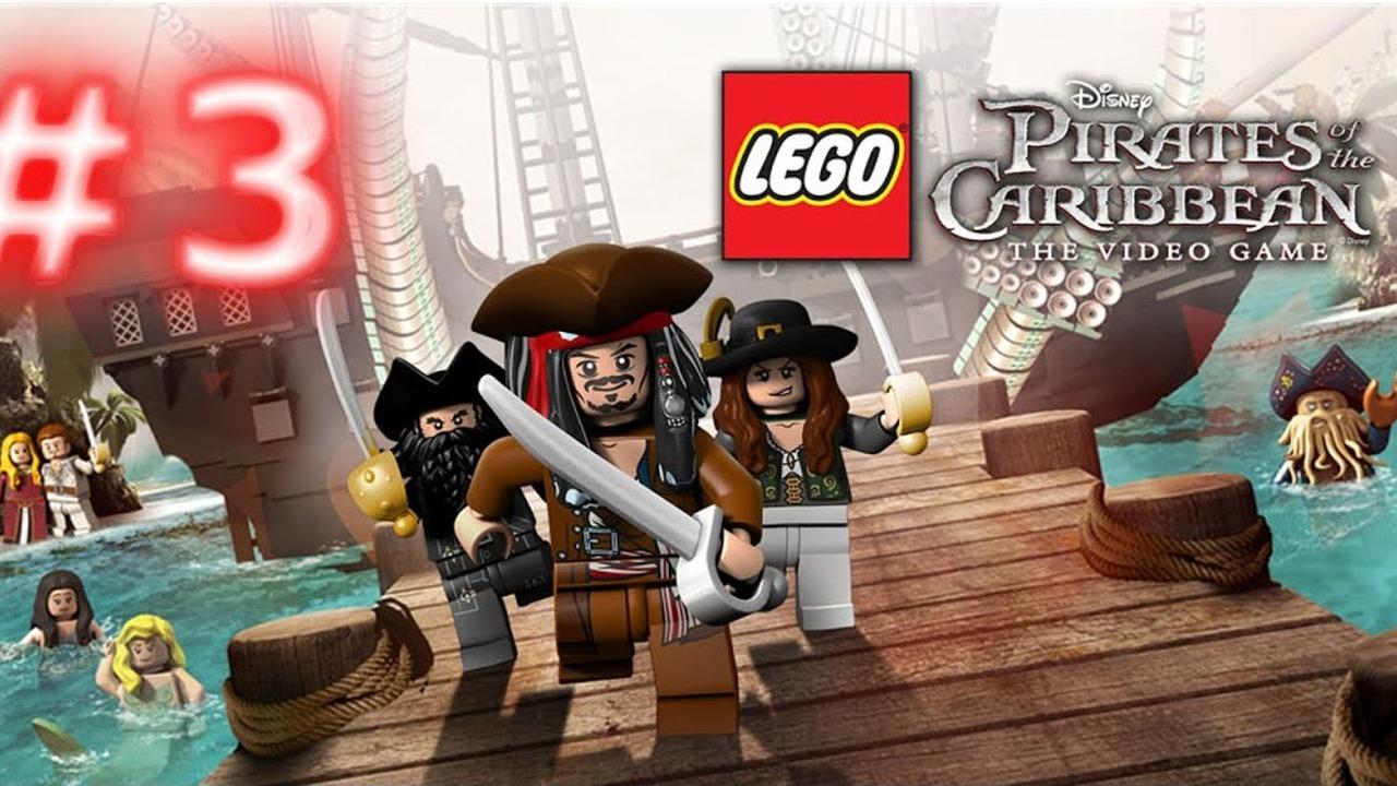 Lego Piraci Z Karaibów Klątwa Czarnej Perły 1 Cutscenki Wideo W