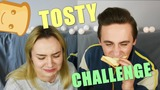 TOSTY CHALLENGE! || Just Siblings!
