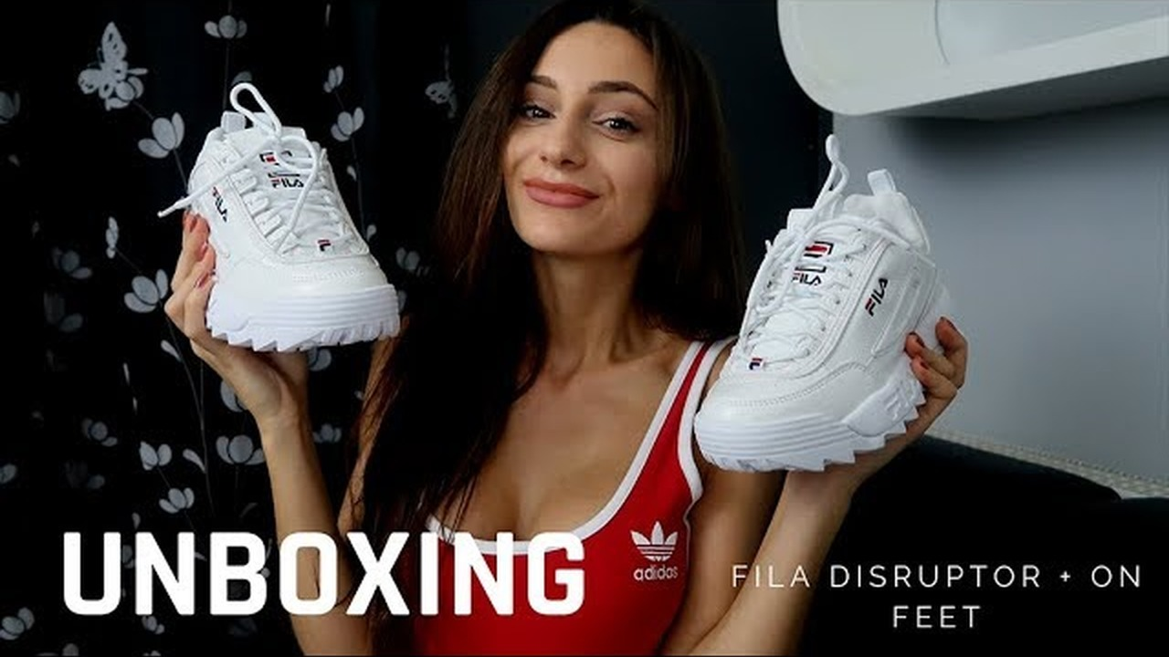 UNBOXING BUTY FILA DISRUPTOR + ON FEET RECENZJA YouTube