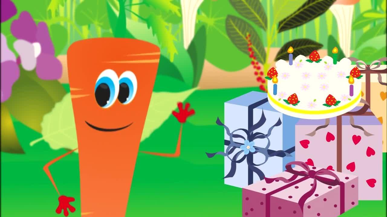 Urodziny Marchewki - piosenka dla dzieci - Babadu TV - CDA