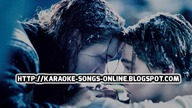 Celine Dion Titanic free online karaoke song lyrics.  My Heart Will Go On New version