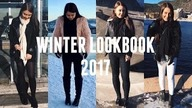 WINTER LOOKBOOK 2017 | Wiktoria