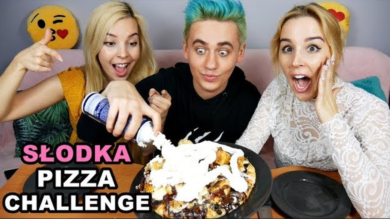 SŁODKA PIZZA CHALLENGE