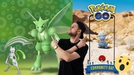 Shiny Bagon Community Day! Shiny Scyther event!, SHINY MEWTWO! Odcinek #261