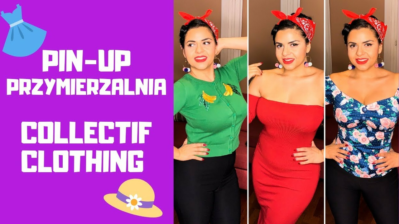 Pin-Up Przymierzalnia - Collectif | Pin Up Candy