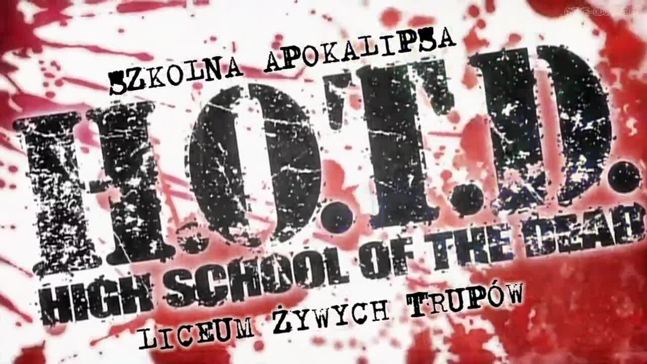High School of the Dead odcinek 9 Miecz i Żywe Trupy