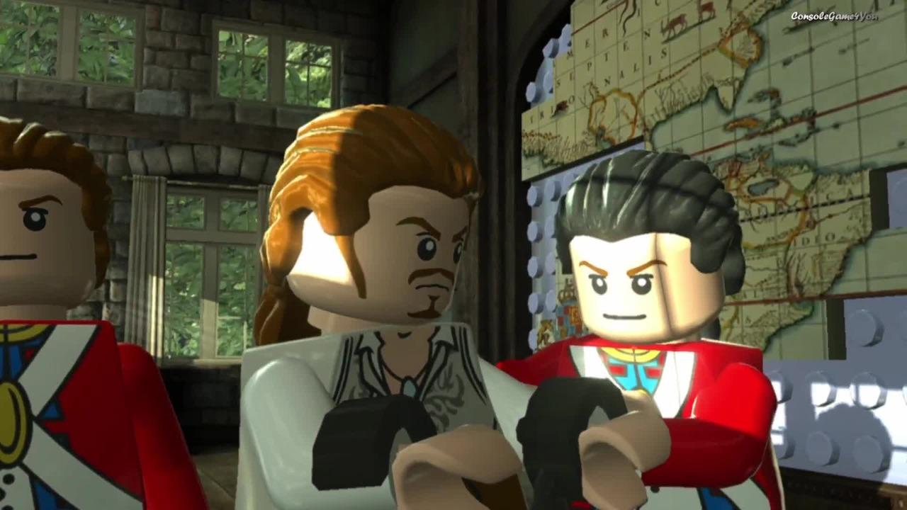 Lego Piraci Z Karaibów Na Krańcu świata 3 Cutscenki Wideo W Cdapl