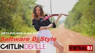 METI-POLAND Caitlin De Ville part.  2 (Electric Violin Orginal Video HD) LONG RMX METI-POLAND IN THE MIX